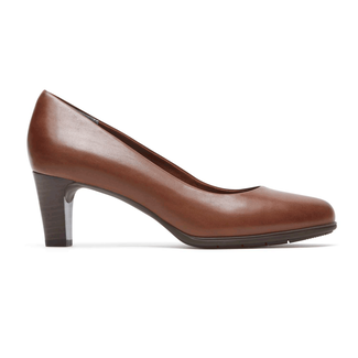 Total Motion Melora Plain PumpRockport Women's Brown Total Motion Melora Plain Pump