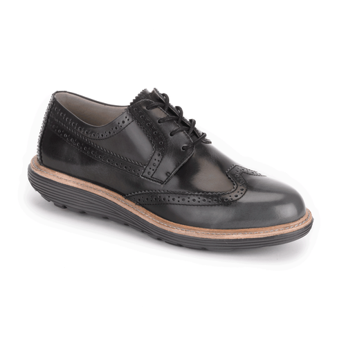 truWALKzero Welt Oxford Women's Walking Shoes in Black