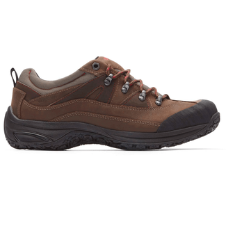 Ludlow Cloud Lace-Up in Brown