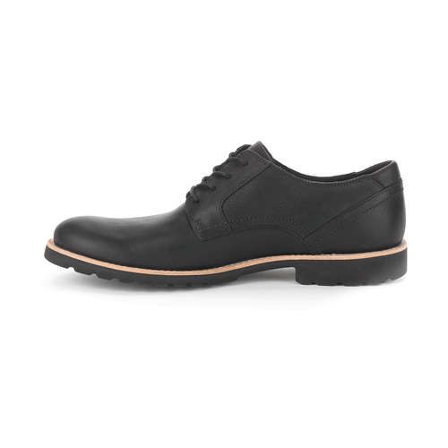 Ledge Hill Plain Toe Men's Dress Casual Shoes in Black
