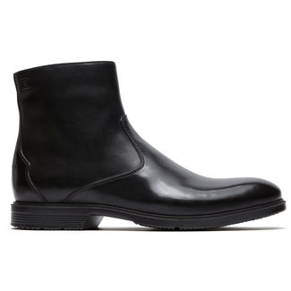 Rockport Men's Black City Smart Inside Zip Boot