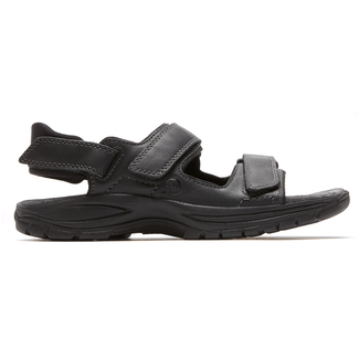 Newport St. Johnsbury Sandals in Black