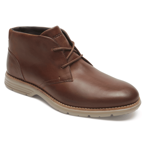 Total Motion Chukka Boot Comfortable Men's Shoes in Brown
