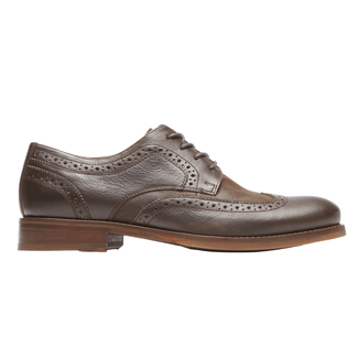 Wyat Wingtip Oxford, DARK BITTER CHOCOLATE