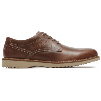 Cabot Plaintoe  Comfortable Men's Shoes in Brown