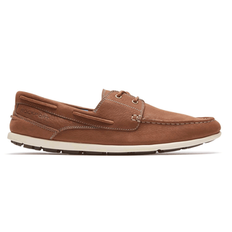 Bennett Lane 3 Boat ShoeRockport Men's Vicuna Bennett Lane 3 Boat Shoe
