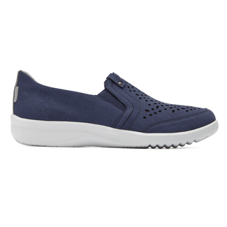 Emalyn Twin Gore Slip On, FADED DENIM