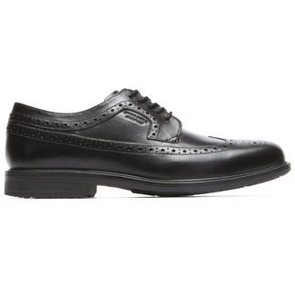 Essential Details II Wingtip Comfortable Men's Shoes in Black