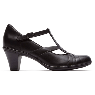 Marilyn T-Strap Pump Cobb Hill by Rockport in Black