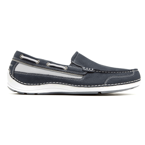 Shoal Lake Slip On - Men's Navy Slip on Shoes