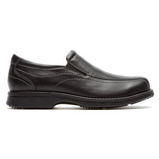Classics Revised Twin Gore Slip On Men's Slip Ons in Black