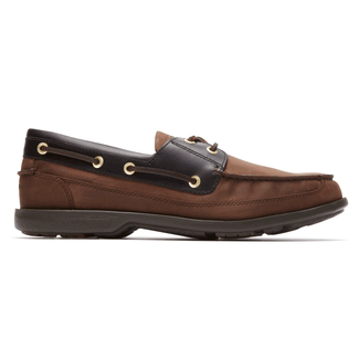 Jeffrey's Bay 2-Eye Boat ShoeRockport Men's Vicuana Jeffrey's Bay 2-Eye Boat Shoe