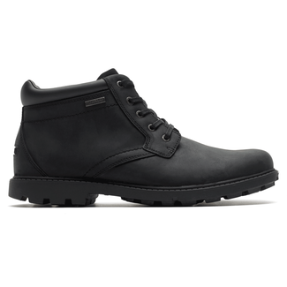 Rugged Bucks Waterproof Boot in Black