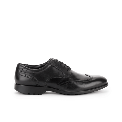 Total Motion Wingtip Men's Wingtips in Black