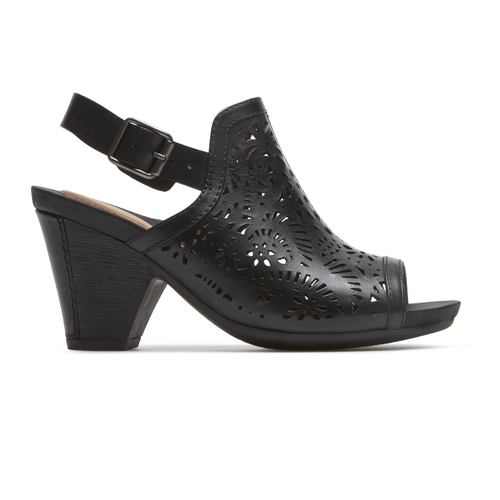 Cobb Hill Tropez High Vamp Comfortable Women's Shoes in Black