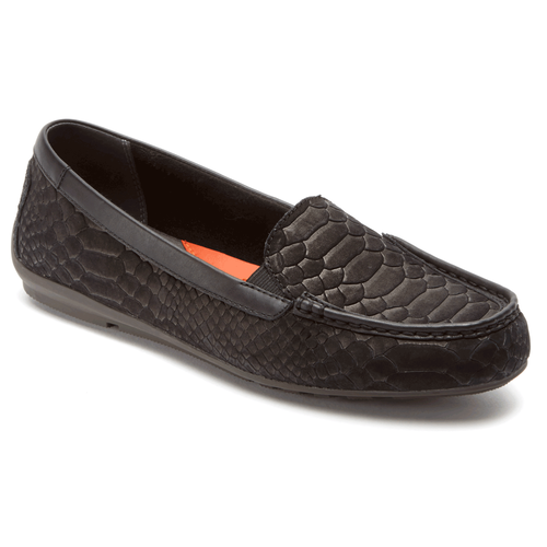 Total Motion Driving Moc Women's Driving Shoes in Black