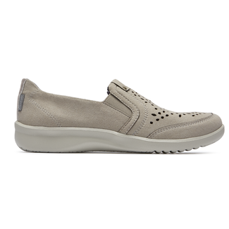 Emalyn Twin Gore Slip-On, TAUPE