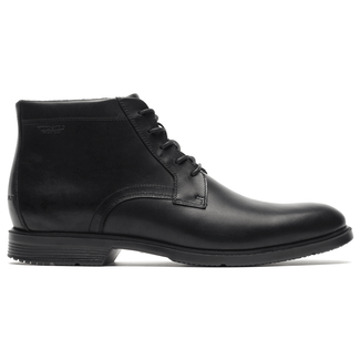 City Smart Waterproof Chukka Men's Boots in Black