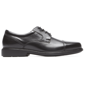 Charles Road Cap Toe Oxford in Black