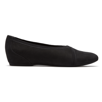 Total MotionHidden Wedge Envelope Flat in Black