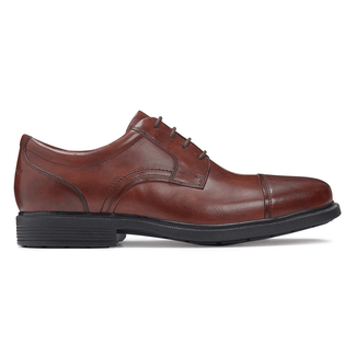 DresSports Luxe Cap Toe Oxford in Brown
