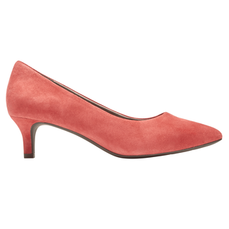 Total Motion Kalila Pump, TOMATO SUEDE