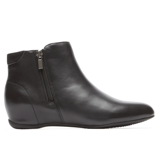 Total MotionEmese Zip Bootie in Black