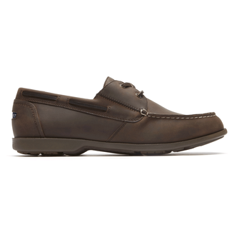 Summer Sea 2-Eye Boat Shoe Comfortable Men's Shoes in Brown