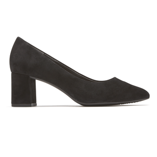 Total Motion Salima Pump, BLACK SUEDE