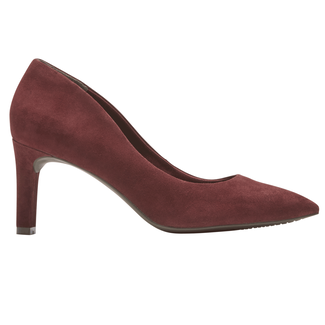 Total Motion Valerie Luxe Pump, MERLOT SUEDE