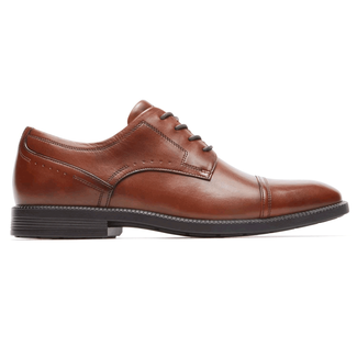 DresSports Modern Cap Toe, NEW BROWN LEA