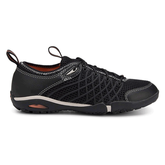 Famke Injection Wave Lace Up  Women's Casual Shoes in Black