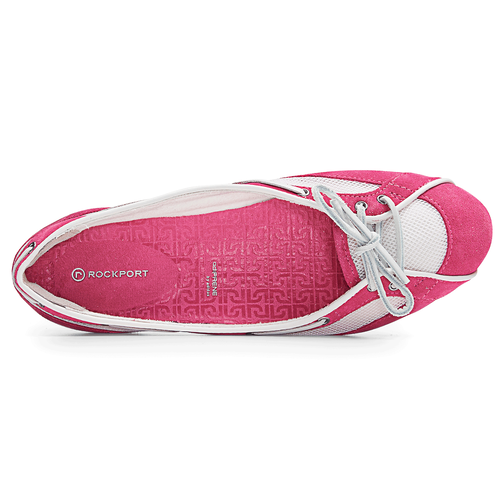 Etty Laced Boat Ballet, Magenta