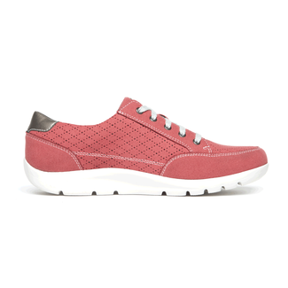 Moreza Zip Tie Sneaker Comfortable Women's Shoes in Pink