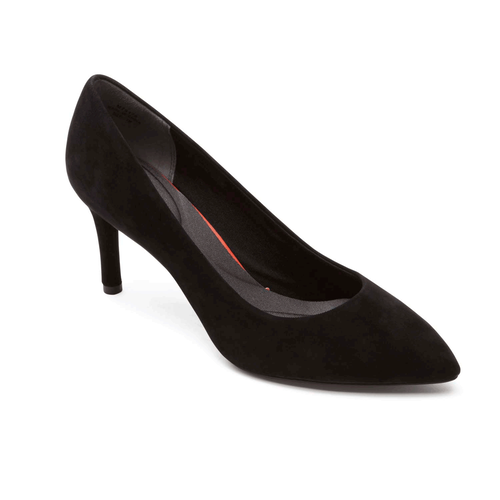 Total Motion  Pointed Toe Pump Women's Heels in Black