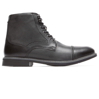 Classic Break Cap Toe Zip Boot in Grey