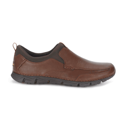 RocSports Lite 2 Moc Toe Slip On Men's Casual Shoes in Brown