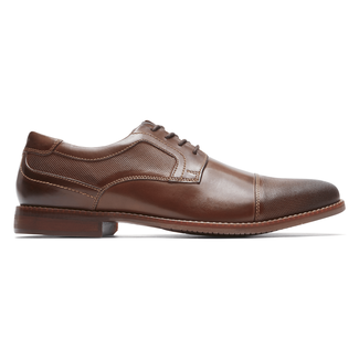 Style Purpose Cap Toe Blucher, BROWN LE