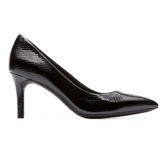 Total Motion  Pointed Toe Pump in Black