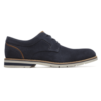 Statford Plain Toe Oxford Comfortable Men's Shoes in Navy