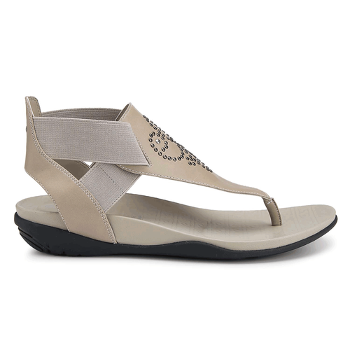 truJoris Gore T Strap Women's Sandals in Grey