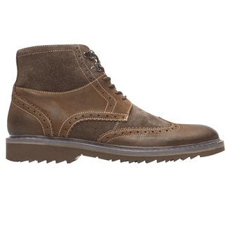Jaxson Wingtip Boot, BROWN