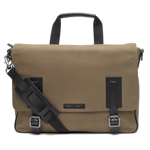 Rockport Men's Brown Work Messenger Bag