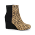 Seven to 7 Wedge Bootie Women's Boots in Leopard