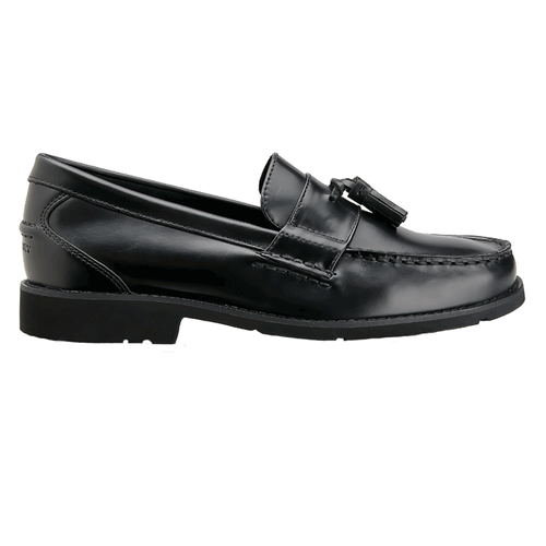 Spenard Circle Men's Dress Shoes in Black