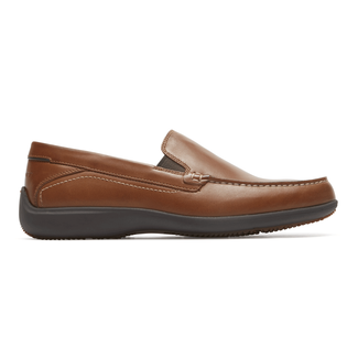 Aiden Venetian Loafer Comfortable Men's Shoes in Brown