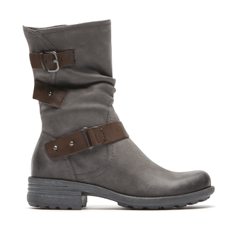 Cobb Hill Brunswick Boot, DARK GREY NBK