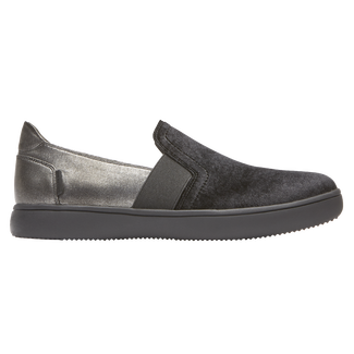 Ariell Gore Slip-On, PEWTER