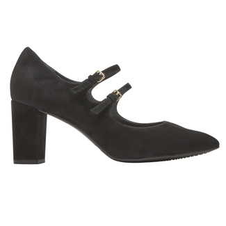 Total Motion Violina Mary Jane Pump, BLACK SUEDE
