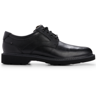 Charles View Oxford Comfortable Men's Shoes in Black